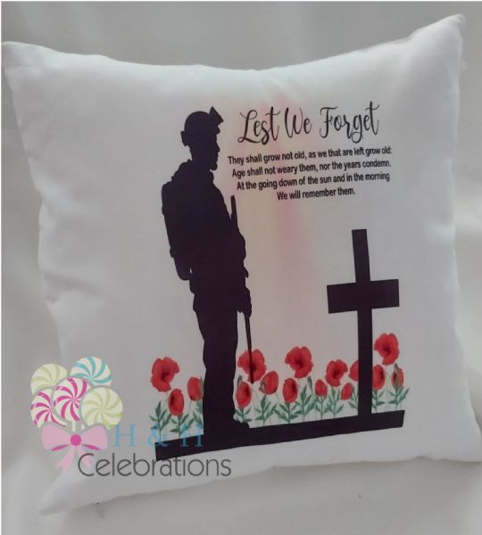 Lest We Forget Cushion